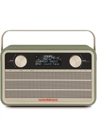 Nordmende Digitalradio (DAB+) »Transita 120«, ( Digitalradio (DAB+) 5 W), im Retro Design kaufen
