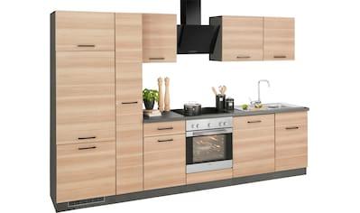 wiho Küchen Küchenzeile »Esbo«, mit E-Geräten, Breite 310 cm kaufen