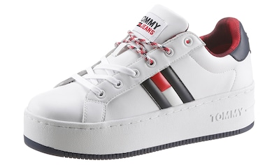 TOMMY JEANS Plateausneaker »ICONIC FLAG FLATFORM SNEAKER« kaufen