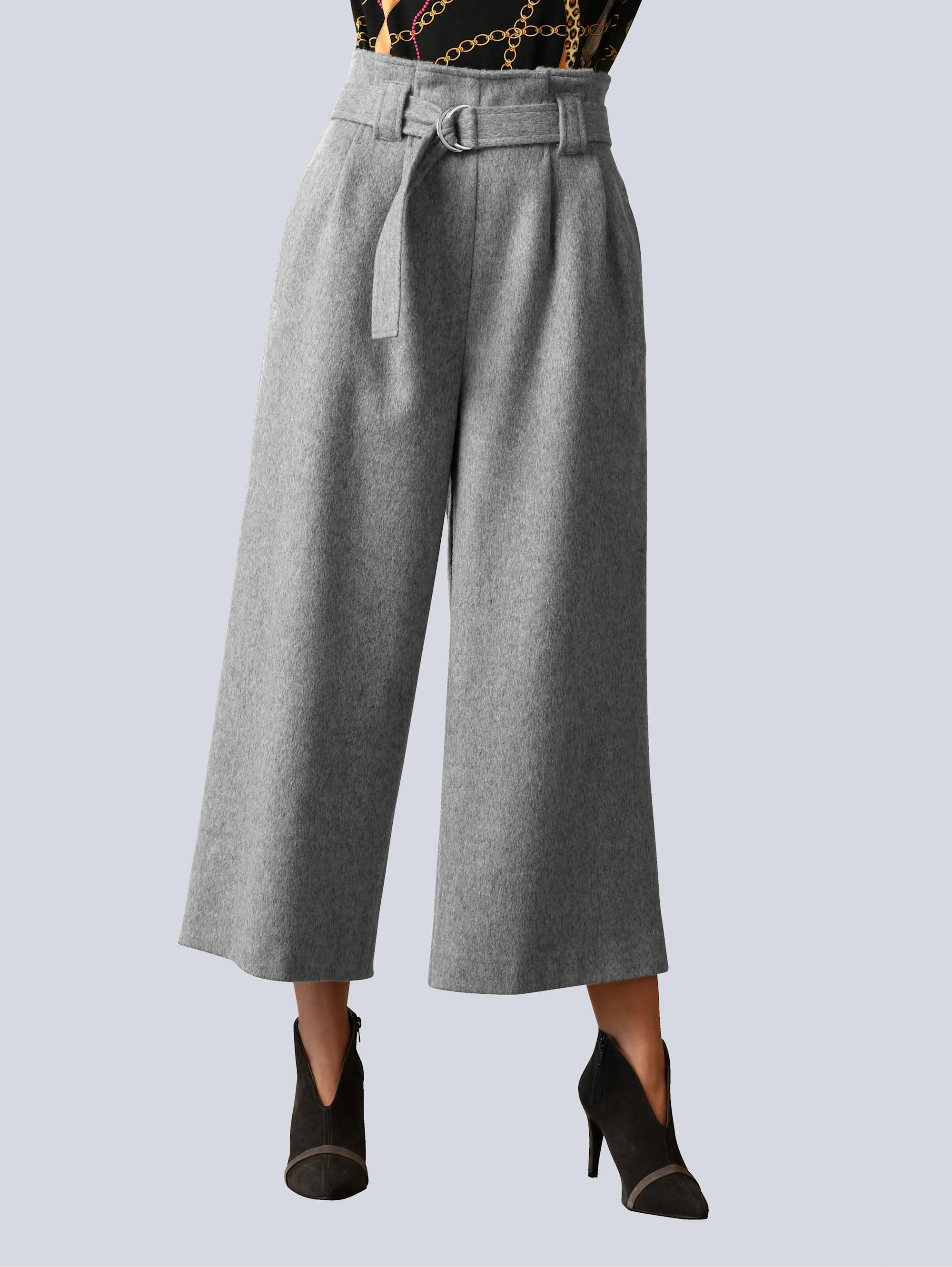 alba moda -  Culotte, ausgepflegter, leicht wolliger Ware
