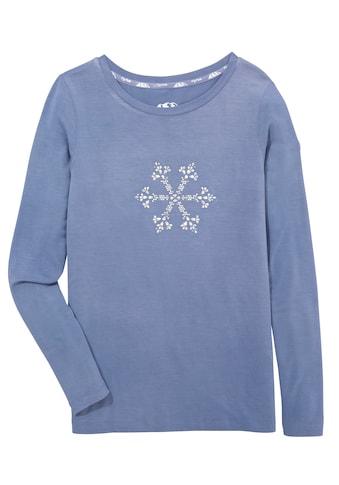 Piz Palü Trachtenshirt, Damen, mit Kristallmotiv aus Glitzersteinen kaufen