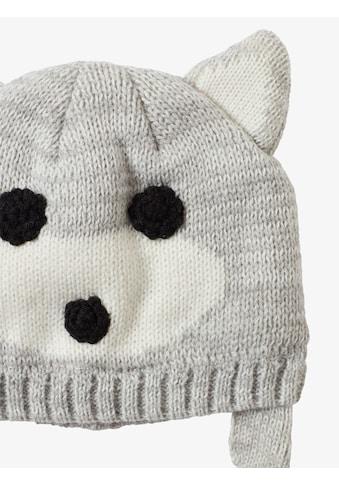 TOM TAILOR Strickmütze »Mütze mit Tier - Motiv« kaufen