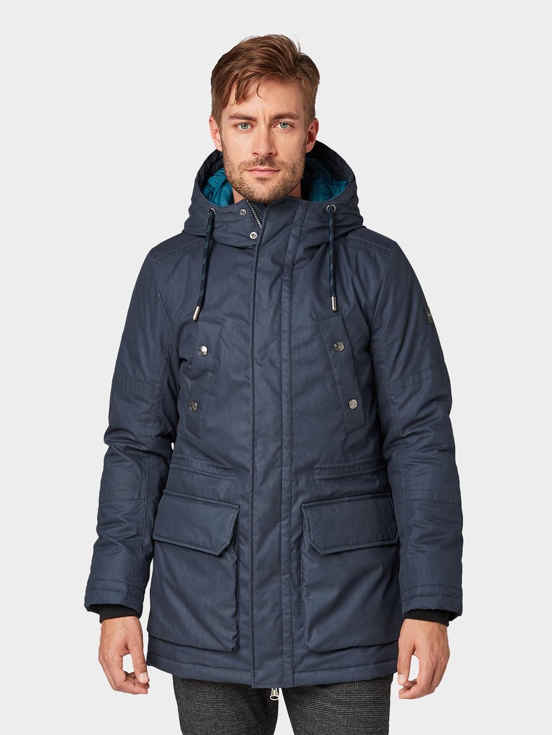 TOM TAILOR Winterjacke Jacke mit doppelter Kapuze | Bekleidung > Jacken > Winterjacken | Tom Tailor