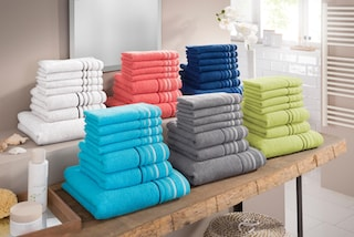 handtuch set niki my home set auf rechnung baur. Black Bedroom Furniture Sets. Home Design Ideas