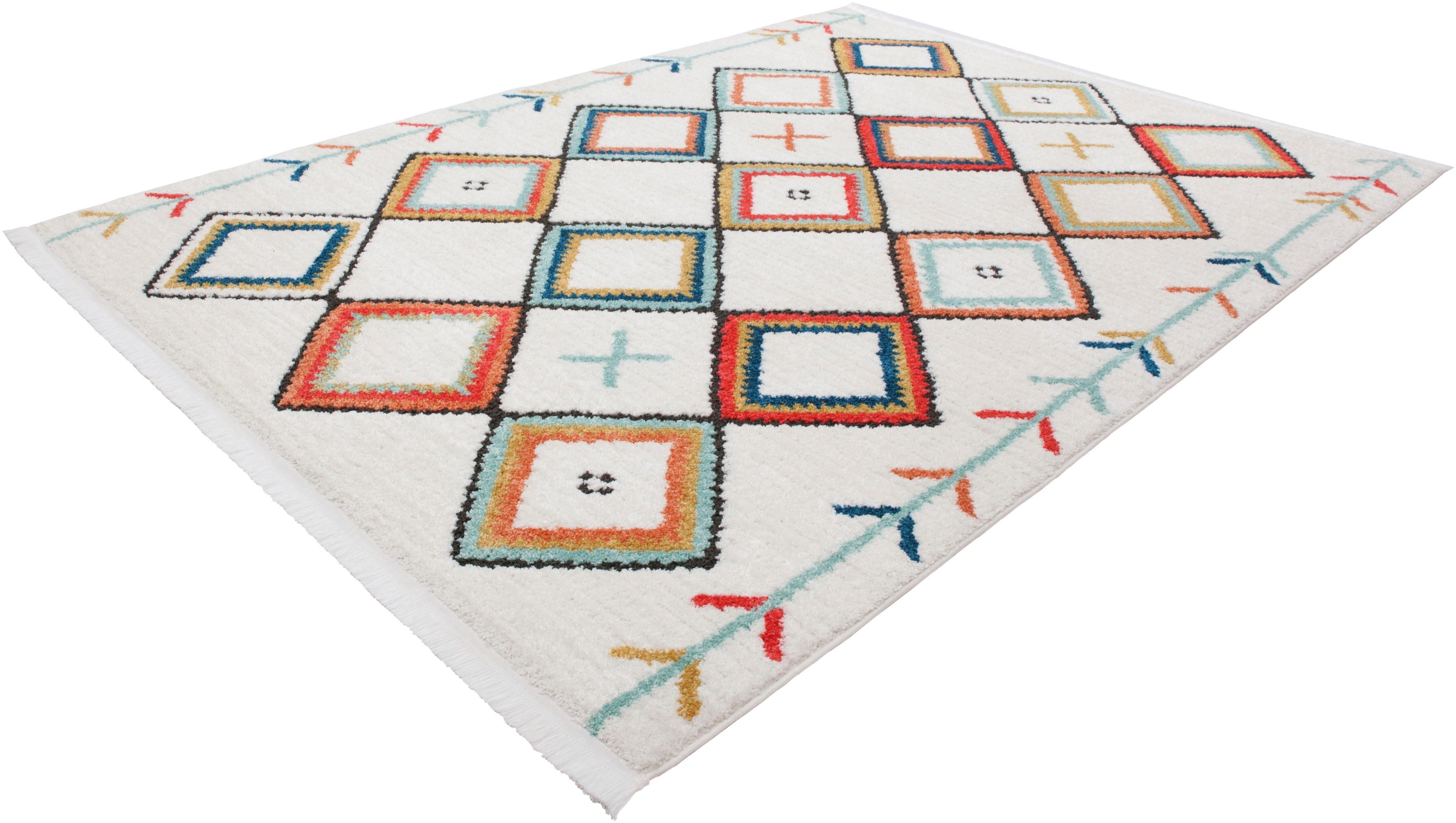 Teppich Yoel 215 calo-deluxe rechteckig Höhe 23 mm maschinell gewebt