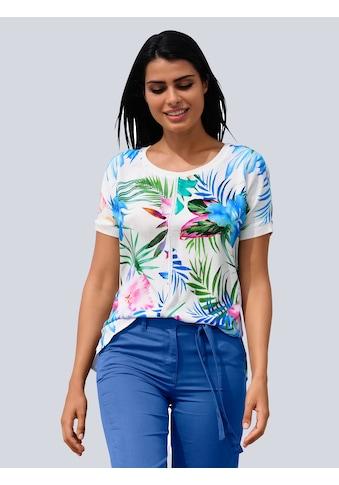 Alba Moda Druckbluse, in Shirtform kaufen