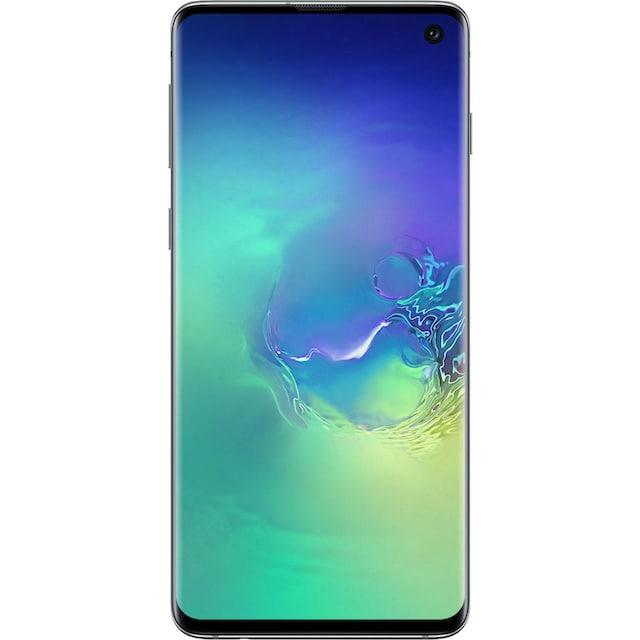 Samsung Galaxy S10 Smartphone (15,51 cm / 6,1 Zoll, 128 GB, 12 MP Kamera)