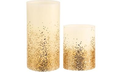 "Pauleen LED - Kerze ""Golden Glitter"", (Set, 2 - tlg.) kaufen"