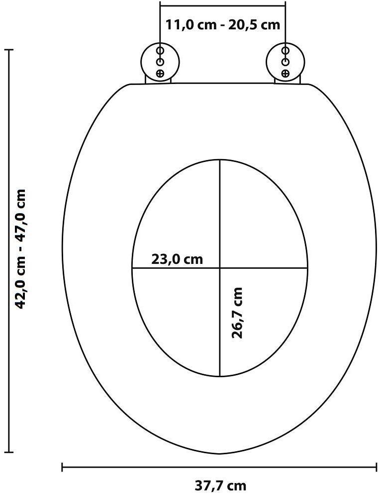Indexbild 7 - Sanilo WC-Sitz Granit, mit Absenkautomatik WC-Sitze WC Bad Sanitär