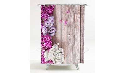 SANILO Duschvorhang »Flieder«, 180 x 200 cm kaufen