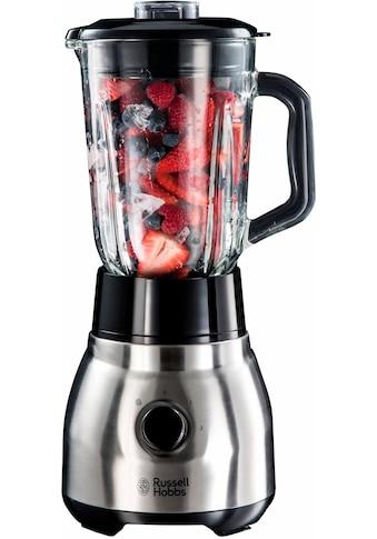 RUSSELL HOBBS Standmixer »23820-56«, 600 W, 1,5L Glasbehälter, gebürsteter Edelstahl kaufen