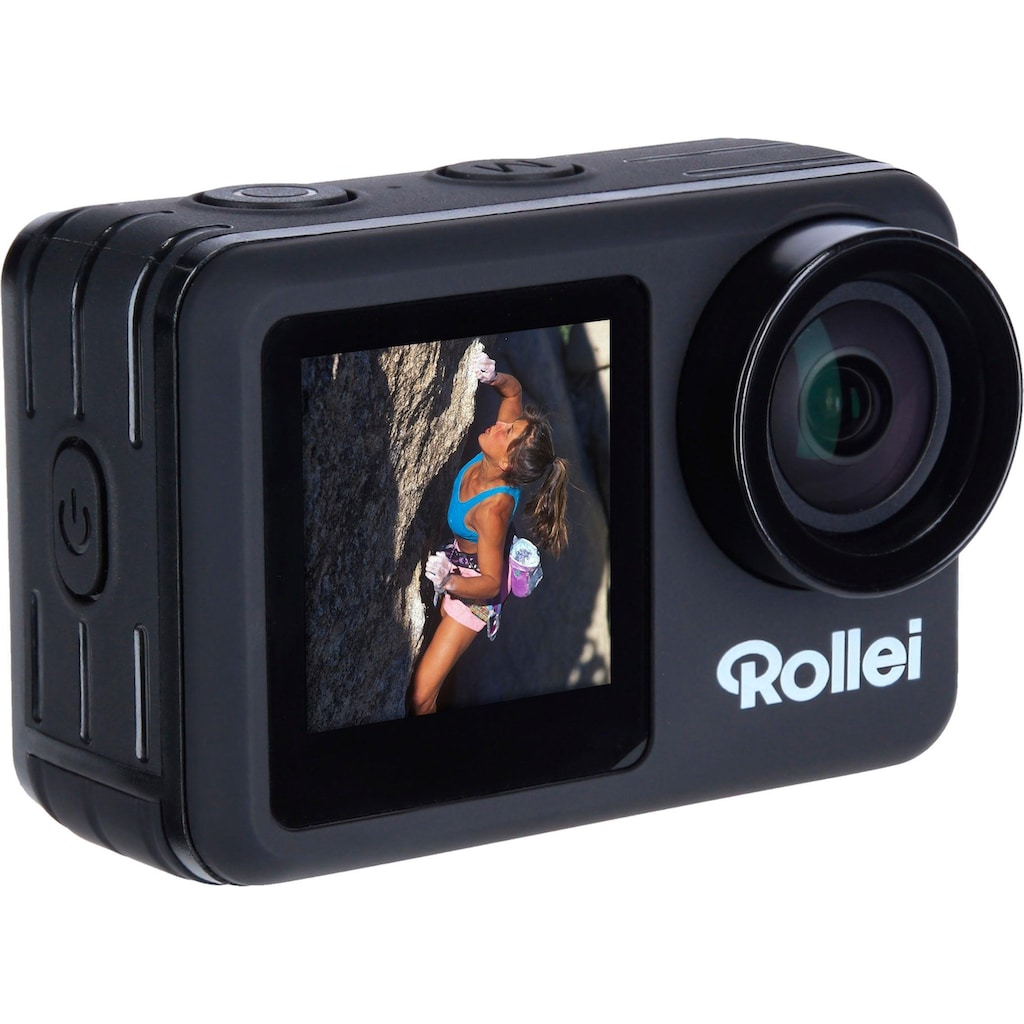 Rollei Action Cam »8S Plus«, 4K Ultra HD, WLAN (Wi-Fi)