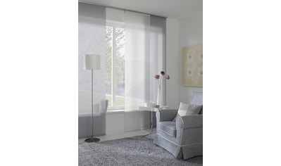 GARDINIA Schiebegardine »Flächenvorhang Entry mit weißen Paneelwagen«, HxB: 245x60 kaufen