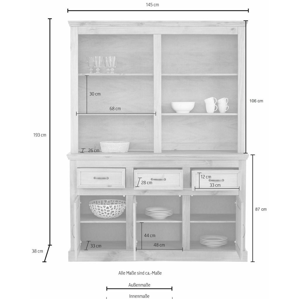 Home affaire Buffet »Selma«, Breite 145 cm