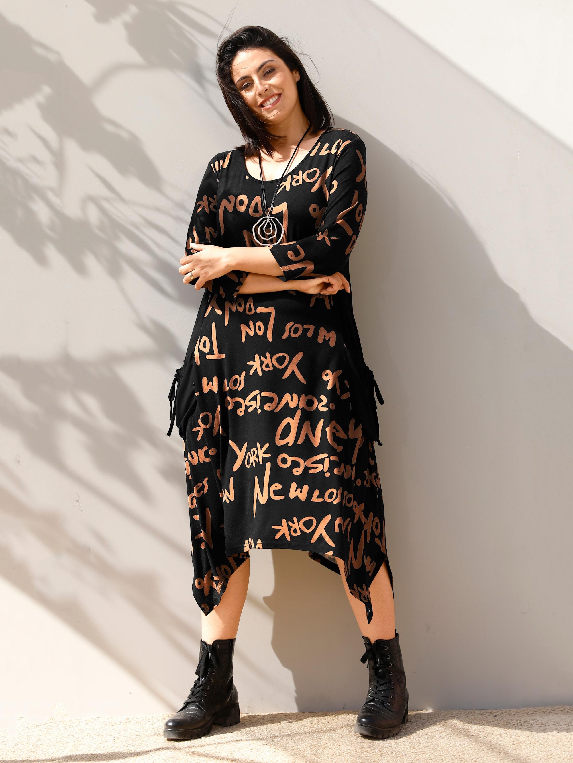 miamoda -  Sommerkleid, mit seitlichen Zipfeln