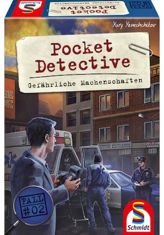 """Schmidt Spiele Spiel, """"Pocket Detective, Gefährliche Machenschaften"""" kaufen"""