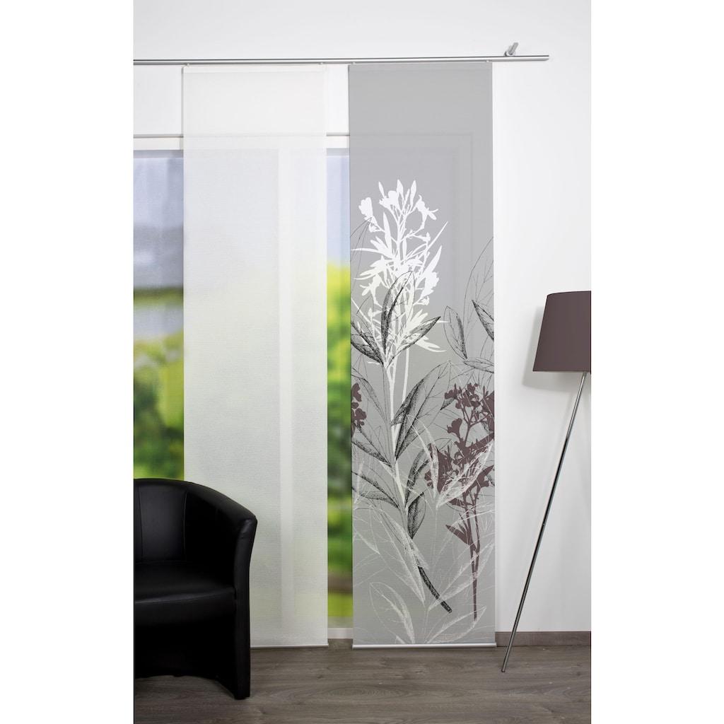 Vision S Schiebegardine »SEMORA«, HxB: 260x60, Schiebevorhang Bambusoptik Digitaldruck