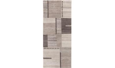 LUXOR living Läufer »Henderson«, rechteckig, 8 mm Höhe, Teppich-Läufer, reine Wolle,... kaufen