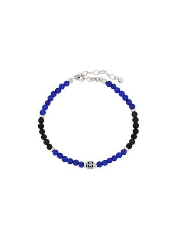 Route 925 Armband »THE FIRST MATE«, Kugelarmband in Holz-Optik & blau Würfel mit... kaufen