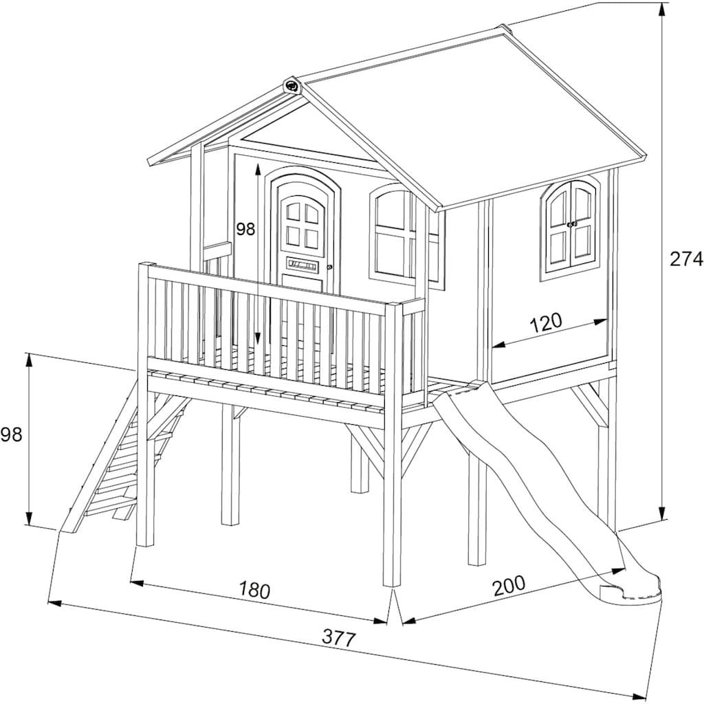AXI Spielturm »Sophie«, BxTxH: 380x212x274 cm