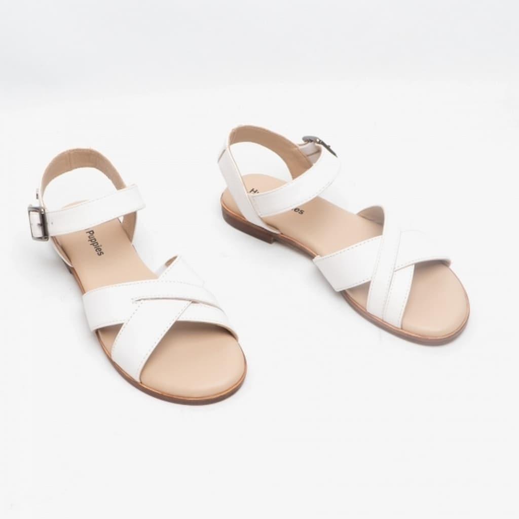 Hush Puppies Sandale »Damen Lila Schnalle Leder«
