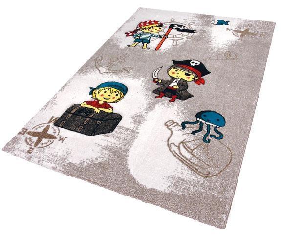Kinderteppich Momo Pirat Festival rechteckig Höhe 13 mm maschinell gewebt