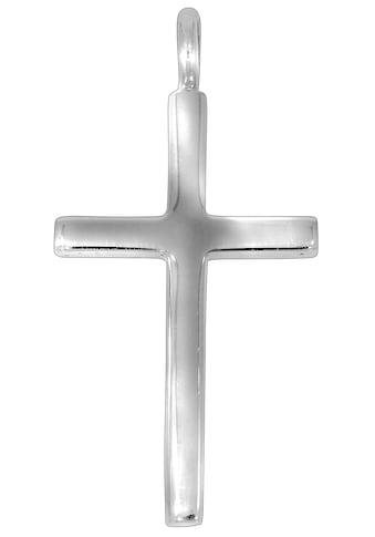 Firetti Kettenanhänger »glänzend rhodiniertes Kreuz, klassisch, zeitlos« kaufen