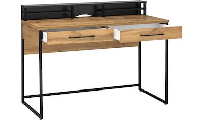 Places of Style Schreibtisch »Pariso«, Breite 118 cm, mit Aufsatz kaufen