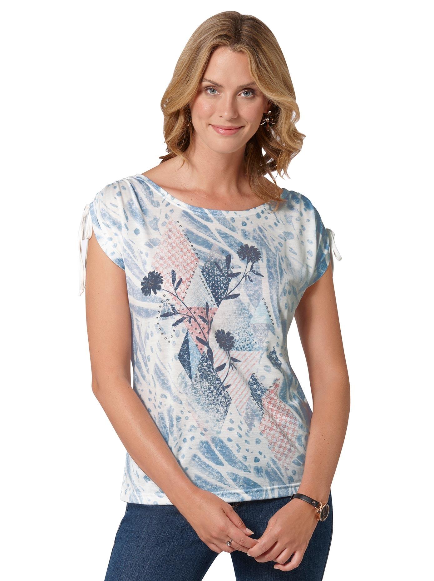 ambria shirt mit effektvollem muster angesagter Mustermix AKLBB1029524923