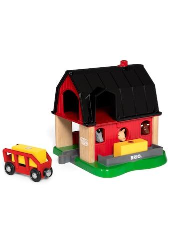 """BRIO® Spielzeugeisenbahn - Gebäude """"BRIO® WORLD Smart Tech Bauernhof"""" kaufen"""