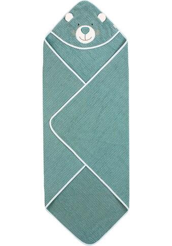 Sterntaler® Kapuzenhandtuch »Ben«, (1 St.), mit Streifen kaufen