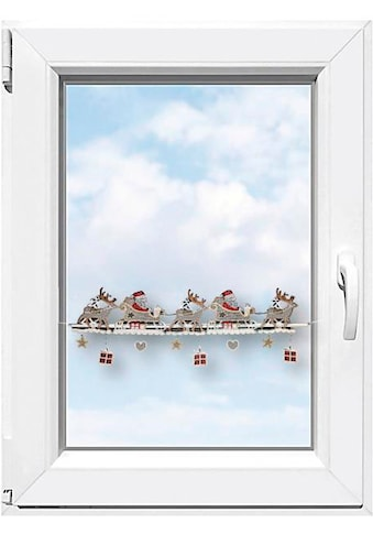 Stickereien Plauen Fensterdekoration »Weihnachtsmann« (1 Stück) kaufen