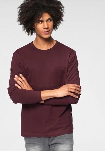 OTTO products Langarmshirt »aus nachhaltiger Bio-Baumwolle« kaufen