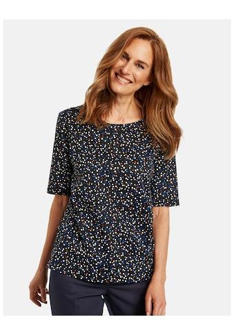GERRY WEBER Kurzarmshirt »Shirt mit Milles Fleurs Muster« kaufen