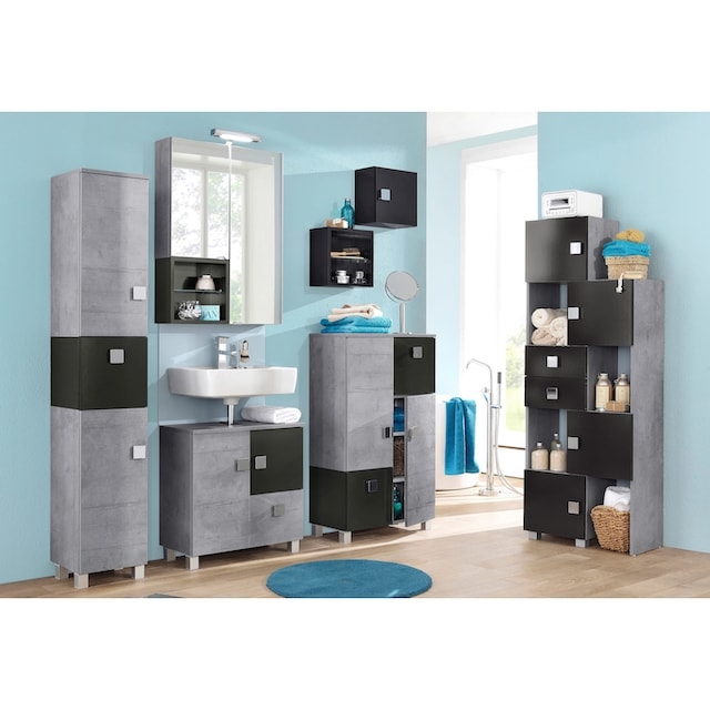 Schildmeyer Waschbeckenunterschrank »Villa«