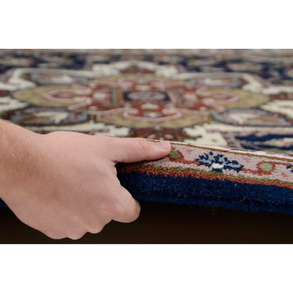 THEKO Wollteppich »Royal Heriz«, rechteckig, 14 mm Höhe, Orient-Optik, reine Wolle