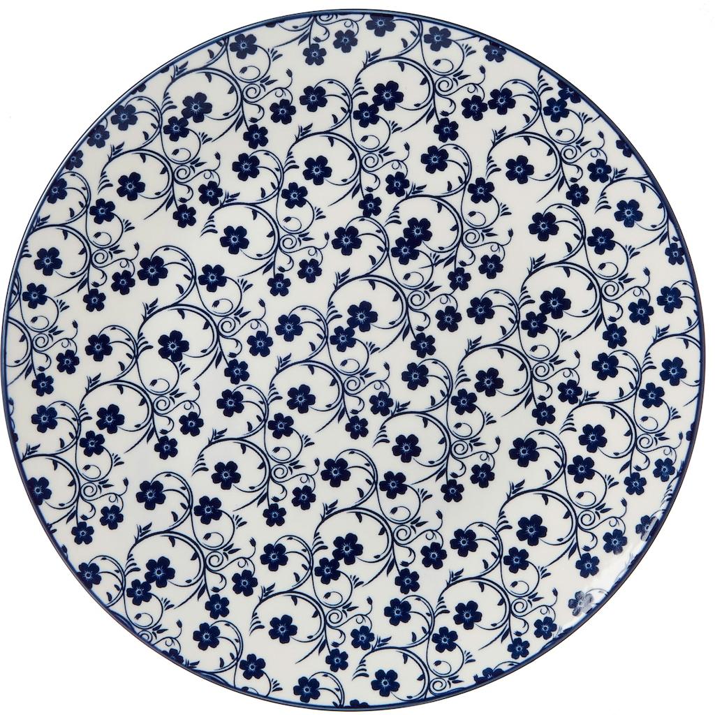Ritzenhoff & Breker Suppenteller »ROYAL SAKURA«, (Set, 4 St.), Keramik, Ø 26,5 cm