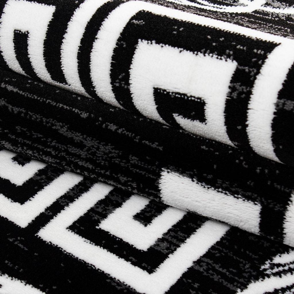 Ayyildiz Teppich »Miami 6620«, rechteckig, 12 mm Höhe, Kurzflor, Wohnzimmer