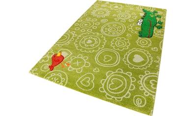 Kinderteppich, »Crocodile«, Sigikid, rechteckig, Höhe 13 mm, maschinell gewebt kaufen