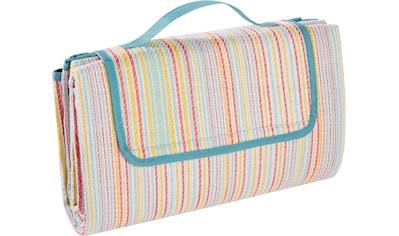 BIEDERLACK Picknickdecke »Picknickdecke«, Nässe und Schmutz abweisende Unterseite kaufen
