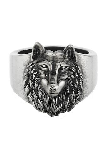 CAÏ Ring »925/- Sterling Silber oxidiert Wolf Europa« kaufen