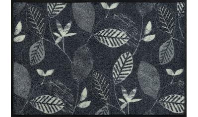 wash+dry by Kleen-Tex Fußmatte »Conflore«, rechteckig, 7 mm Höhe, Fussabstreifer, Fussabtreter, Schmutzfangläufer, Schmutzfangmatte, Schmutzfangteppich, Schmutzmatte, Türmatte, Türvorleger, In- und Outdoor geeignet, waschbar kaufen