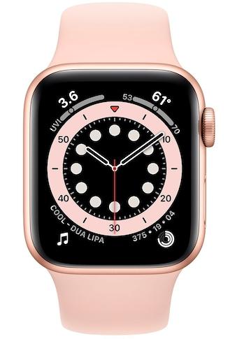 Apple Series 6 GPS + Cellular, Aluminiumgehäuse mit Sportarmband 40mm Watch (Watch OS) kaufen