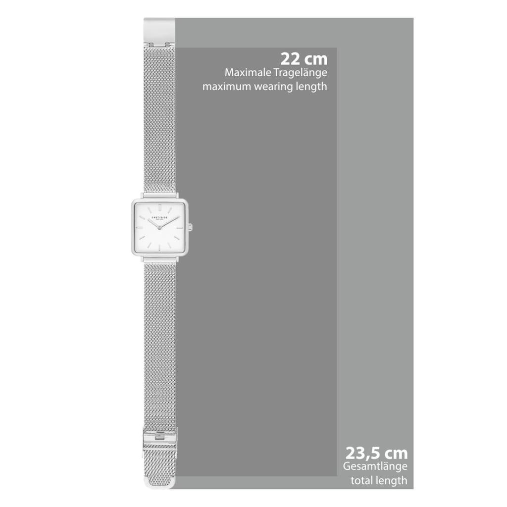 Eastside Quarzuhr »ES205«, (1 tlg.), mit Milanaise-Armband