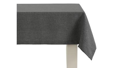 Dreams Tischdecke »UNI«, mit ca. 2,5 cm breitem Saum und edler Briefkecke kaufen