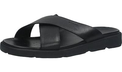 Geox Pantolette »Leder« kaufen