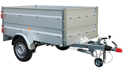 STEMA PKW-Anhänger »BASIC 850«, inkl. Bordwandaufsatz und Flachplane kaufen