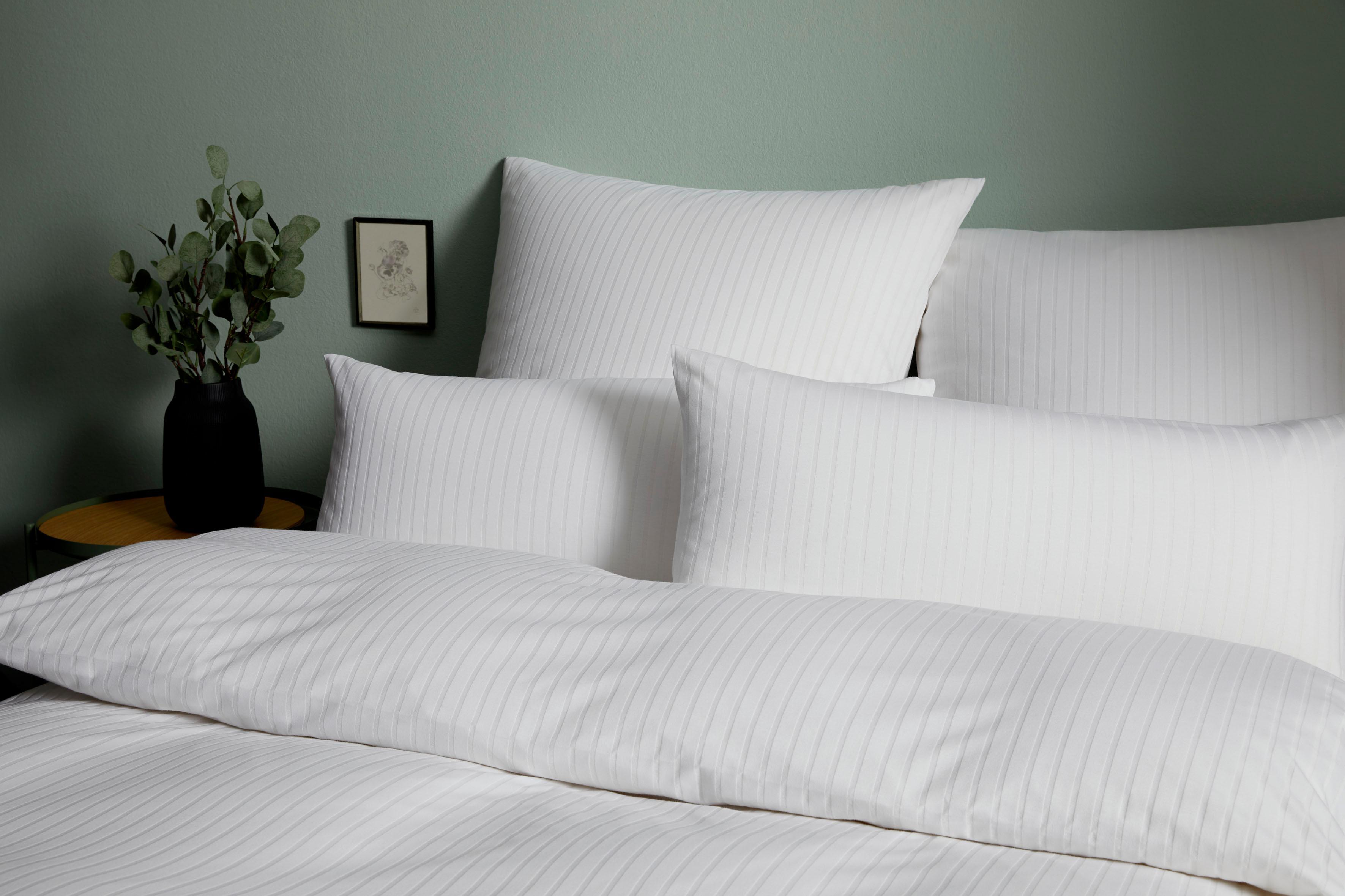Bettwäsche Solid Stripe Elegante