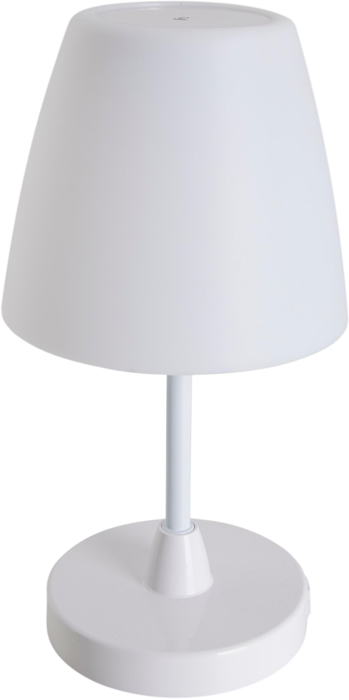 näve Tischleuchte Toora, LED-Board, 1 St., Neutralweiß, Tischlampe für Innen und Außen geeignet