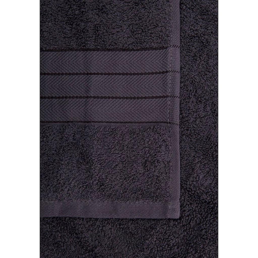 Handtuch Set, »Uni«, good morning (Set)